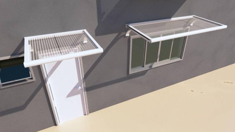 Onde Encontro Toldo Fixos de Janela São Paulo - Toldo de Alumínio para Janela de Apartamento