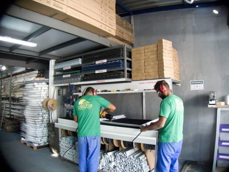 Quanto Custa Toldo de Alumínio de Fácil Montagem Itaquaquecetuba - Toldo de Alumínio para área de Serviço