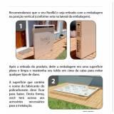 toldo para porta de cozinha de fácil instalação preço Ribeirão Preto