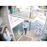 toldo em policarbonato para porta