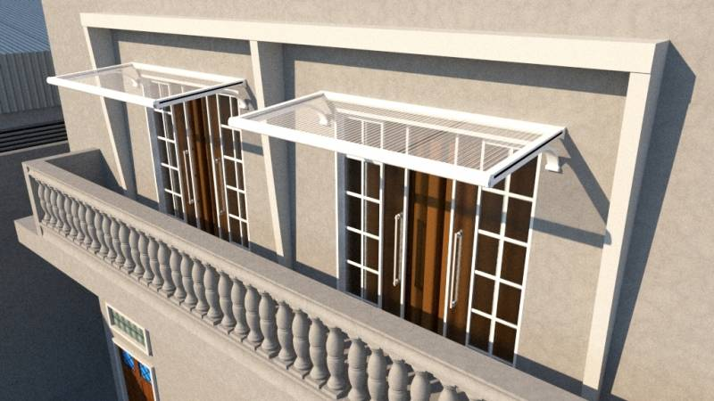Toldo para Varanda de Apartamento Embu Guaçú - Toldo de Fácil Montagem para Varanda
