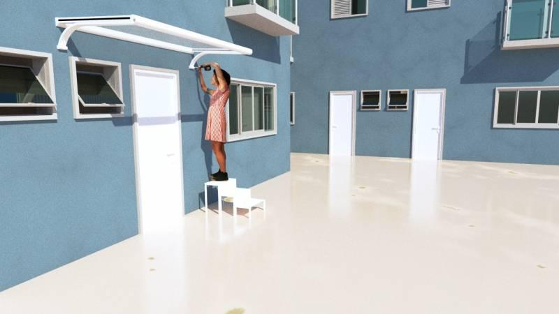 Toldo Pianura de Fácil Montagem Preço Alphaville - Toldo Pianura Sacada de Apartamento