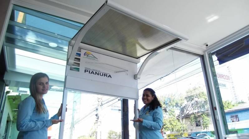 Toldos de Alumínio de Fácil Montagem Curitiba - Toldo de Alumínio para área de Serviço