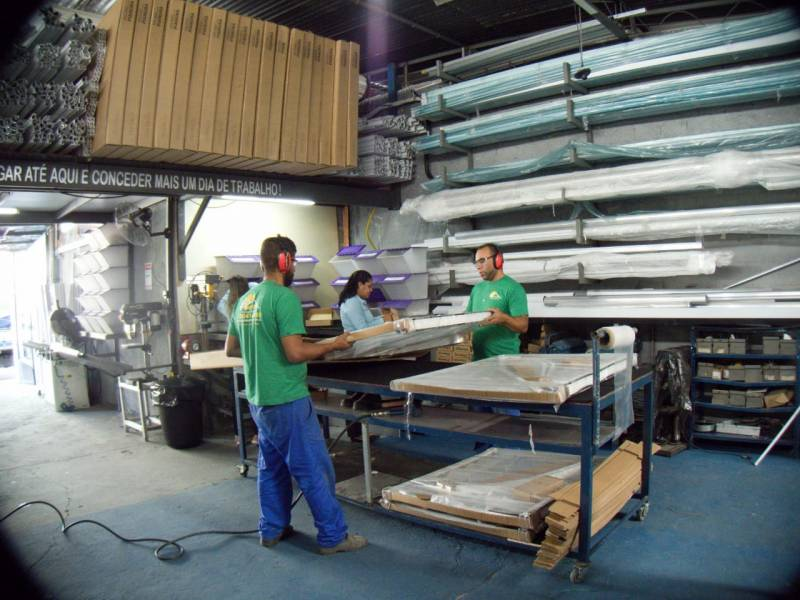 Toldos de Alumínio Americana - Toldo de Alumínio para área de Serviço