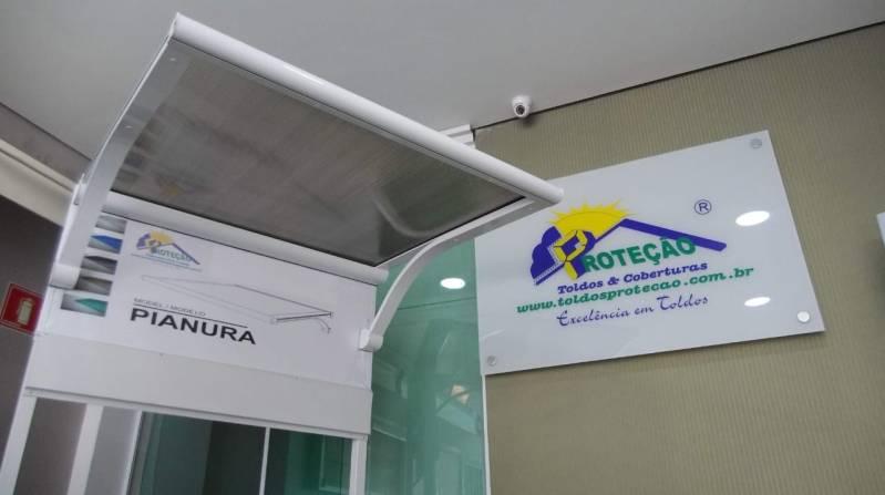 Toldos Fixos Policarbonato Santo André - Toldo em Policarbonato Transparente