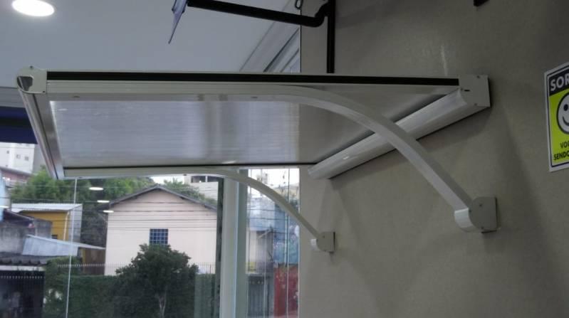 Toldos para Janela de Apartamento Pequeno Itapecerica da Serra - Toldo para Janela Policarbonato